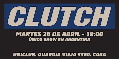 Clutch - Único Show en Argentina entradas
