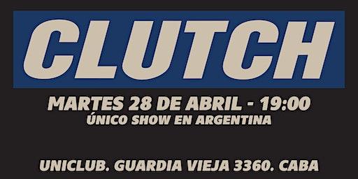 Clutch - Único Show en Argentina