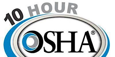 OSHA 10 Hour Construction Safety Course
