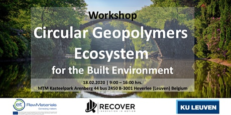 Workshop Circular Geopolymers  Ecosystem  for the Built Environment tickets
