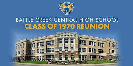 Battle Creek Central HS Class of 1970 Reunion tickets