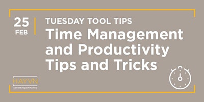 HAYVN+WORKSHOP%3A+Time+Management+%26+Productivit