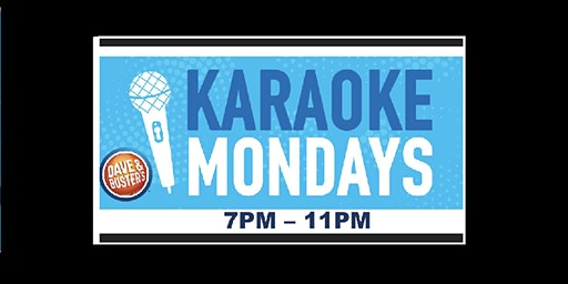 Karaoke Monday's At Dave and Busters, Tampa (Brandon)