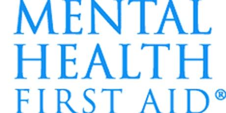 FREE Mental Health First Aid (MHFA) Class tickets