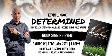 Kevin L. Knox Determined Book Signing Event tickets