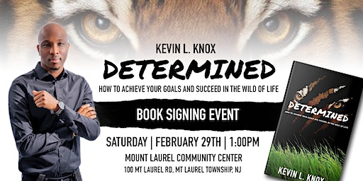 Kevin L. Knox Determined Book Signing Event