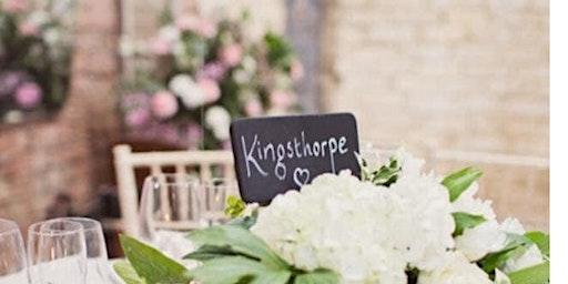 Kingsthorpe lodge farm barn Wedding showcase