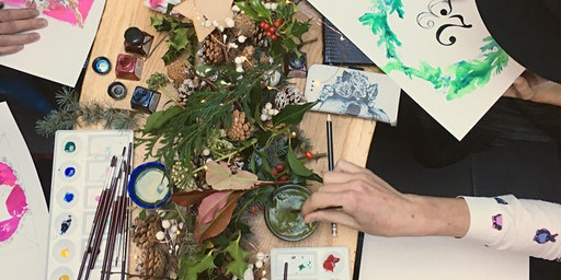 Watercolour Wreath Masterclass
