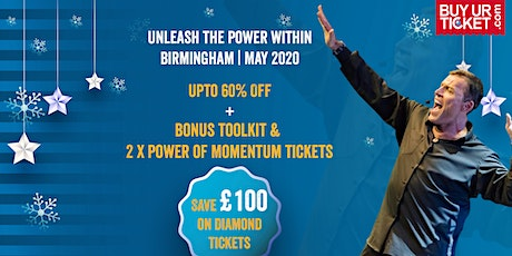 Tony Robbins UPW Birmingham | Buy Diamond Ticket & Get Premium Experience tickets