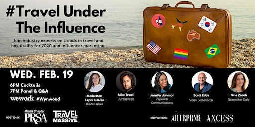 Travel Under The Influence  -  2020