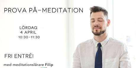 Prova-på-meditation (Gratis) tickets