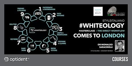 #WHITEOLOGY – The StyleItaliano Direct Workflow tickets