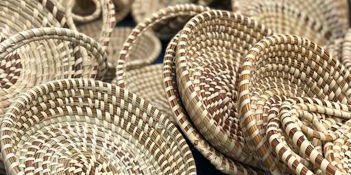 Traditional Sweetgrass Basket Weaving: SOLD OUT, morning class just added.