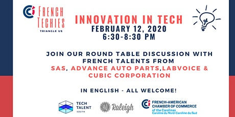 French Techies of the Triangle: Innovation in Tech tickets
