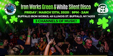 Iron Works GREEN & WHITE Silent Disco tickets