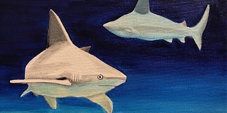 Kids & Grown-Ups Sharks Paint Party at Brush & Cork tickets