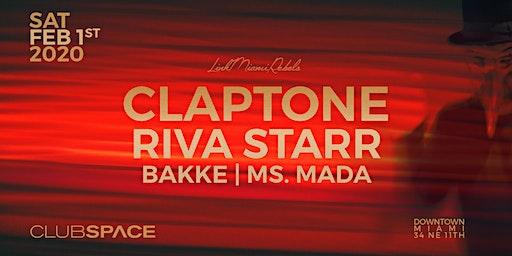 Claptone + Riva Starr