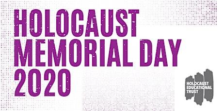 Holocaust Memorial Day 2020 tickets