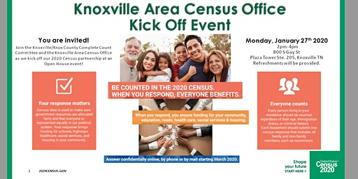 Knoxville Area Census Office Kick Off Event- Open House