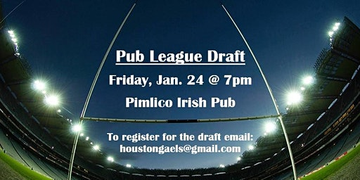 2020 Pub League Draft (Gaelic Football League)