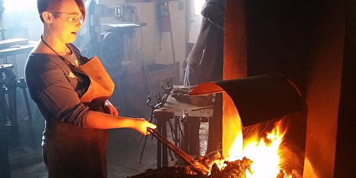 Beginners Blacksmithing with Mike Imrie, April 11-12, 2020