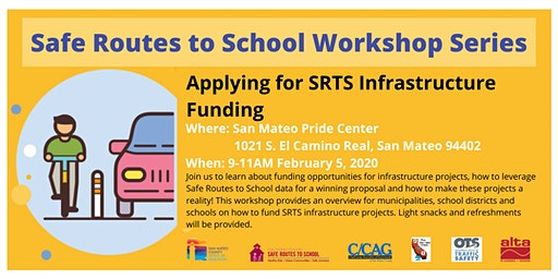 Securing Infrastructure Funding for your Safe Routes to School Projects
