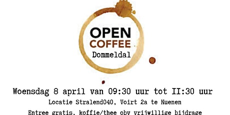 Open Coffee Dommeldal tickets