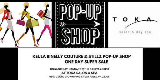 Pop-Up Shop SUPER SALE at Toka Salon