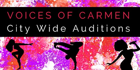 Voices of Carmen Auditions 2020 tickets