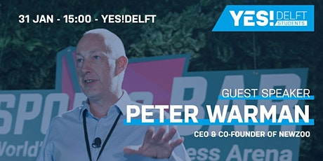 Q&A session Peter Warman, the CEO and Co-Founder of Newzoo tickets