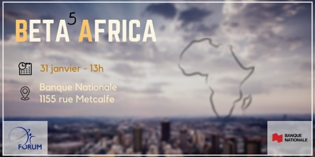 Bêta Africa - 5e édition billets