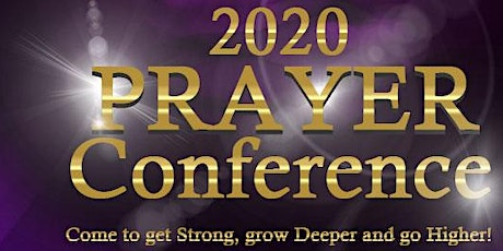 2020 Prayer Conference tickets