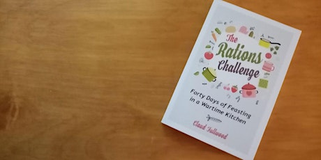 The Rations Challenge Author event tickets