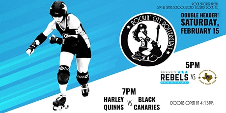 Rebels vs South TX Knockouts & Harley Quinns vs Black Canaries tickets
