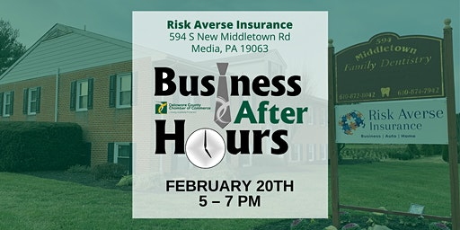 Risk Averse Ribbon Cutting/Business After Hours