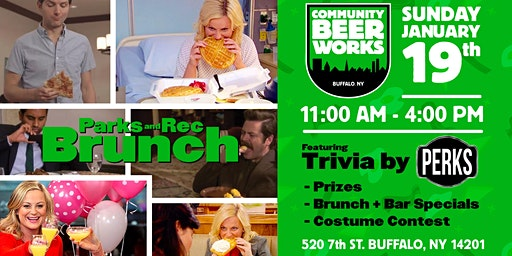 Parks and Recreation Brunch at CBW