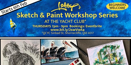 Leahy's Sketch & Paint Workshop Series tickets