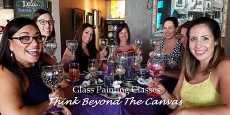 Distance 2B Traveled - Vision Wine Glass Painting Class/Workshop tickets