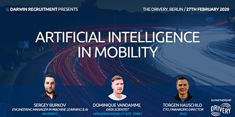 Artificial Intelligence in Mobility @ THE DRIVERY GmbH tickets