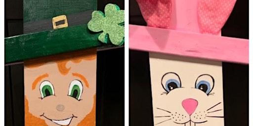 St. Patrick Day/Easter Flip Board- BYOB