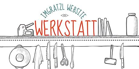 Die erste imGrätzl Website-Werkstatt Tickets