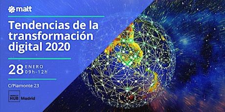 Tendencias de la transformación digital 2020 tickets