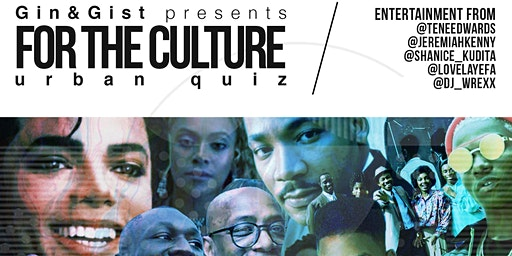 Gin&Gist - FOR THE CULTURE - urban quiz
