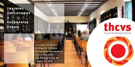 Training Employment and Enterprise Forum (TEEF) tickets