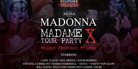 L-U-V MDNA PRESENTS: MADAME X AT THE CLAPHAM GRAND tickets