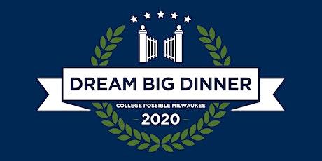 Dream Big Dinner 2020 tickets