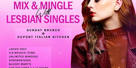 Mix & Mingle With Lesbian Singles (Sunday Brunch) tickets