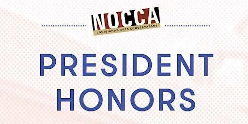 2020 NOCCA President Honors Award Ceremony