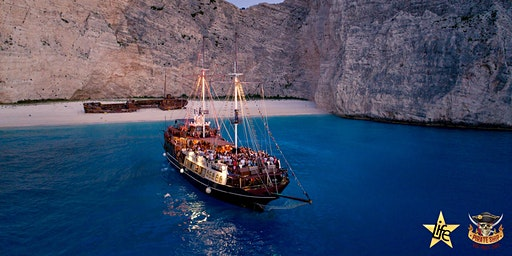 FERRAGOSTO SPECIAL : The Pirate Ship Boat Party Zante by Life Events