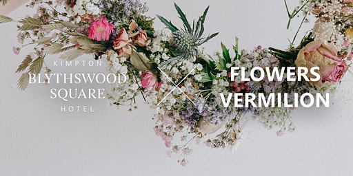 SOLD OUT Blythswood Square X Flowers Vermilion: Spring Wreath Workshop